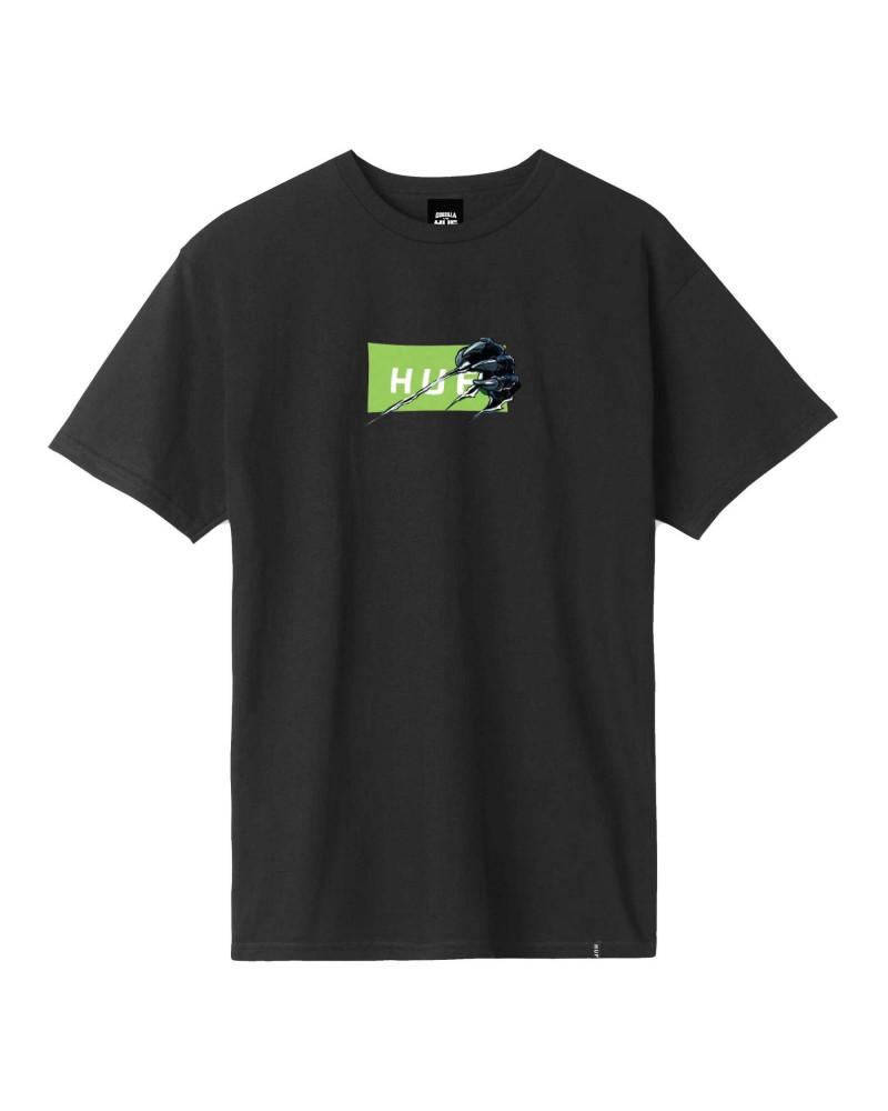 Godzilla VS HUF - Godzilla Bar Logo Tee - Black