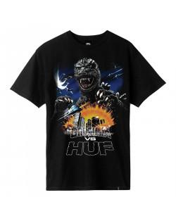 Godzilla VS HUF - Godzilla Tour Tee - Black
