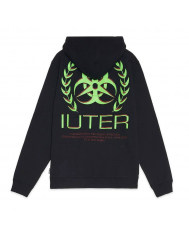 Iuter - Felpa Toxic Hoodie - Black
