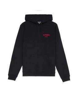Iuter - Sweatshirt Fast Logo Hoodie - Black