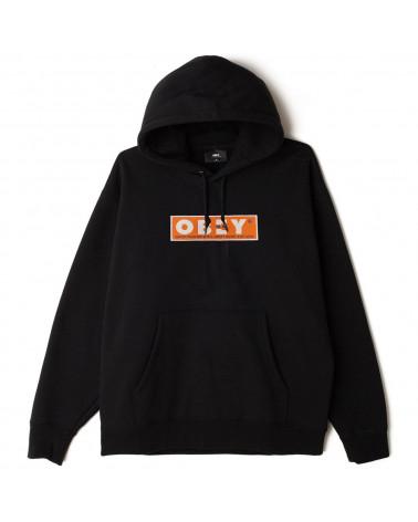 Obey Sweatshirt Subvert Hood Fleece - Black