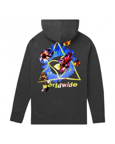 HUF Sweatshirt Come Down TT P/O Hoodie - Black