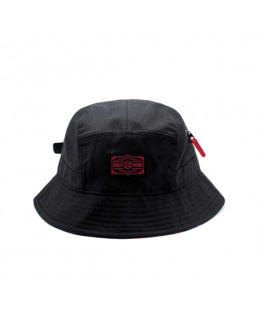 Dolly Noire Dad Bucket - Black