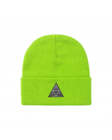 HUF Triple Traingle Beanie - Bio Lime