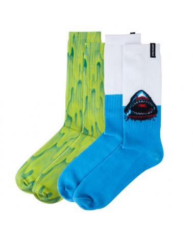 Santa Cruz Speed Wheels Sock - Multicolor
