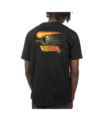Santa Cruz O'Brien Reaper T-Shirt - Black