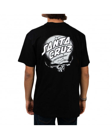 Santa Cruz O'Brien Skull T-Shirt - Black