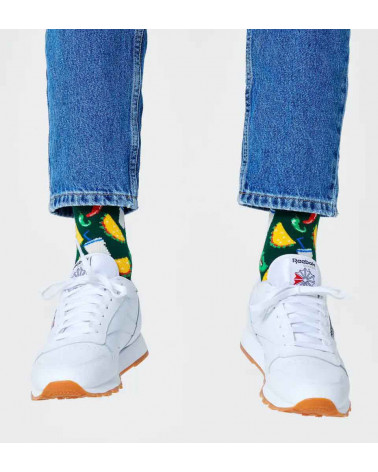 Happy Socks Calze Taco Sock - Green