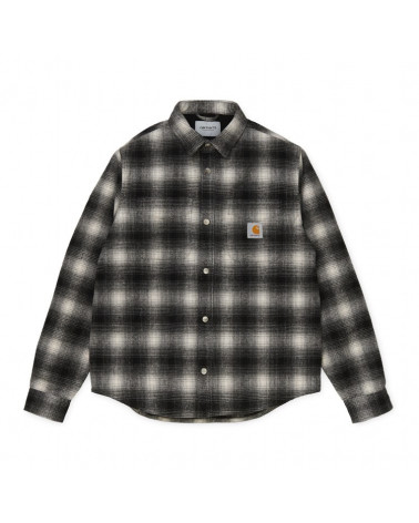 Carhartt WIP Lashley Shirt Jac - Black/White