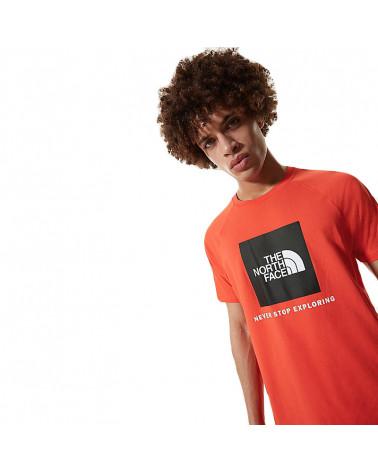 The North Face T-Shirt Raglan Redbox - Flare