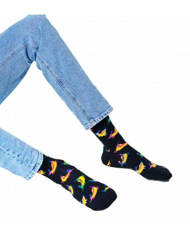 Happy Socks Calze Hot Dog Dog Sock