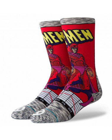 Stance - Calze Newport Sidestep - Red