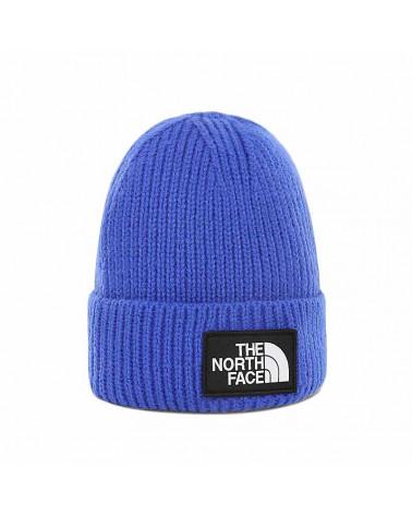 The North Face Beanie Logo Box Cuff - Blue