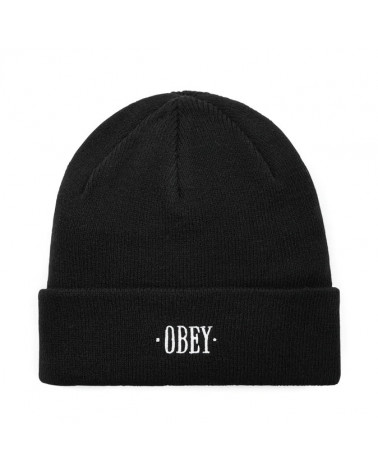 Obey Cappello Times Beanie Black