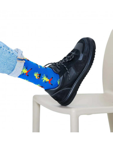 Happy Socks Calze Yoga Palm Sock