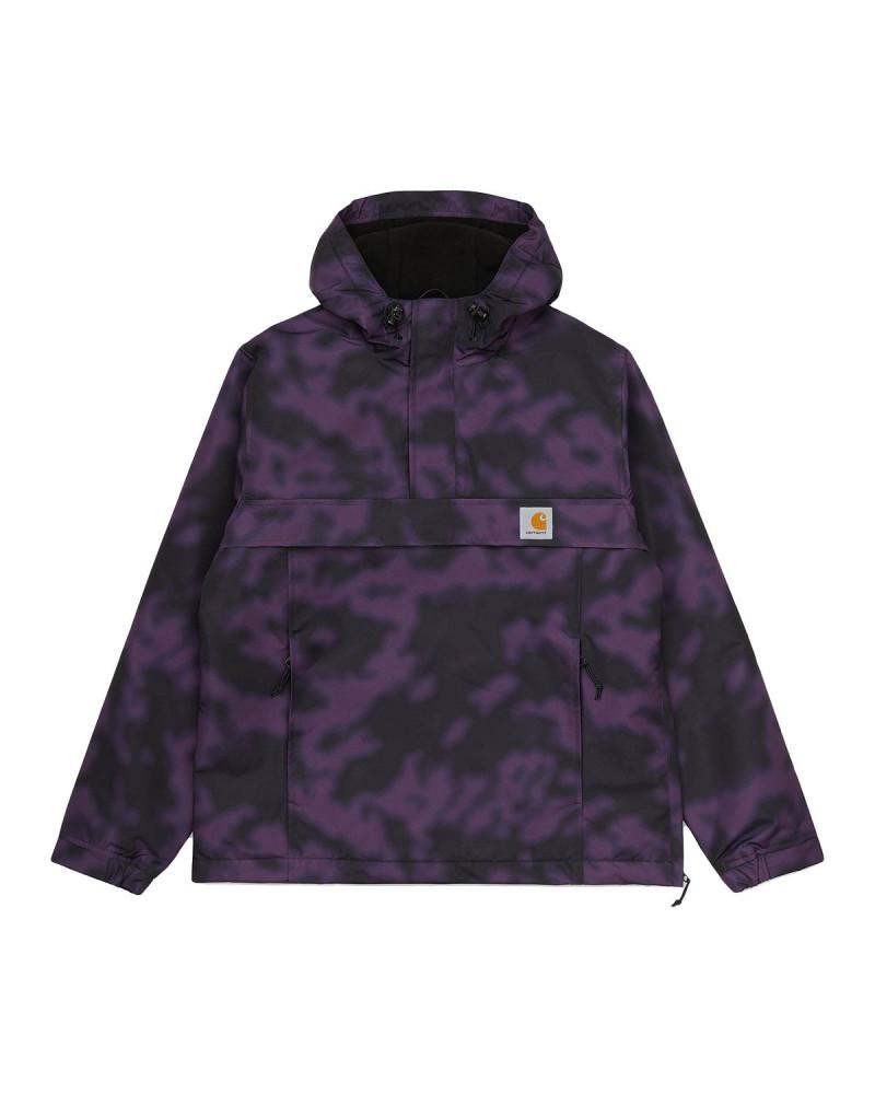 Carhartt WIP Nimbus Pullover - Camo Blur/Purple