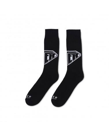 Iuter Logo Socks - Black