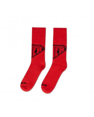 Iuter Calze Logo Socks - Red
