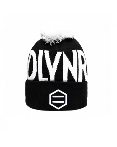 Dolly Noire Black Capital Beanie