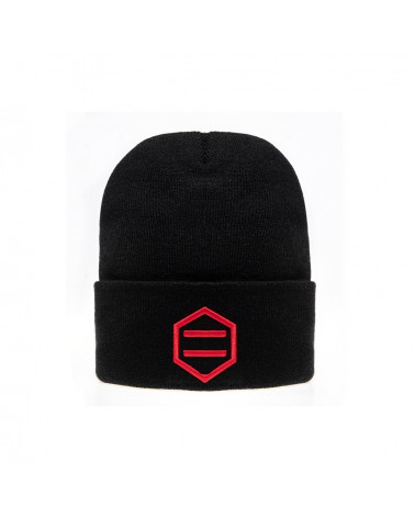 Dolly Noire Cappello Black & Red Beanie