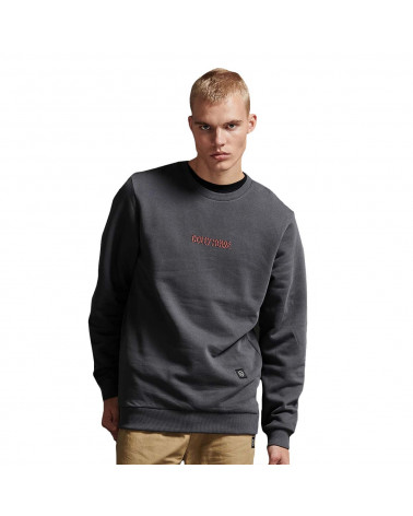 Dolly Noire Felpa Glitch Crewneck - Grey