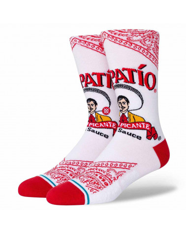 Stance Calze Tapatio - White