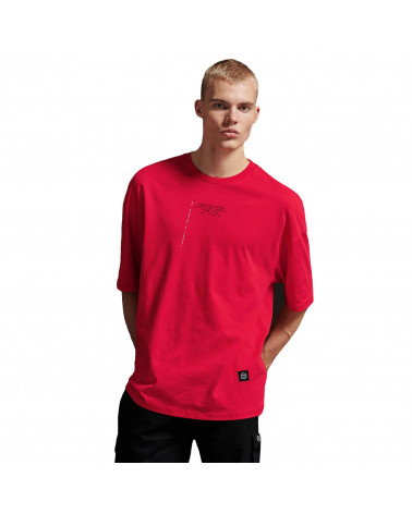 Dolly Noire T-Shirt Kuro Sun Over - Red
