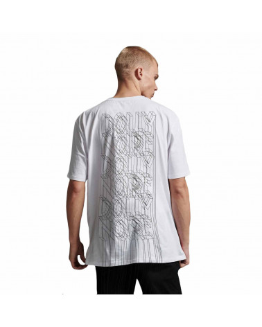 Dolly Noire T-Shirt Wireframe - White