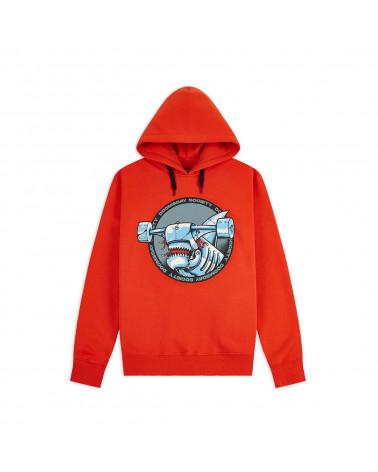 Doomsday Sweatshirt Ironhead Hoodie - Red