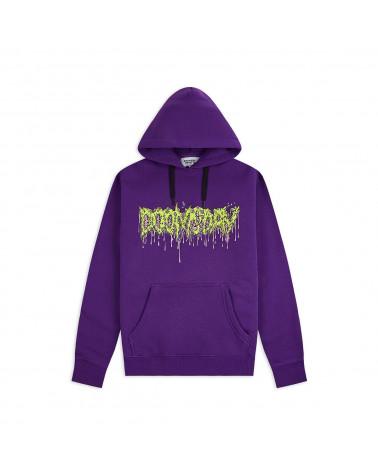 Doomsday Sweatshirt The Thing Hoodie - Purple