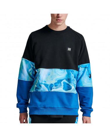 Dolly Noire Sweatshirt Blaste Crewneck - Blue