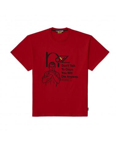 Iuter T-Shirt Noyz Narcos Snitch Tee - Red