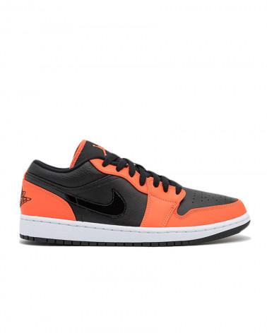 Nike Air Jordan 1 Low - Black/Turf Orange-White