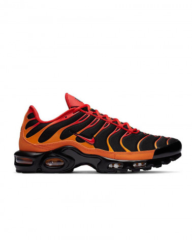 Nike Air Max Plus TN Volcano - Black/Chile Red-Vivid Orange