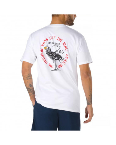 Vans T-Shirt Speak Easy - White