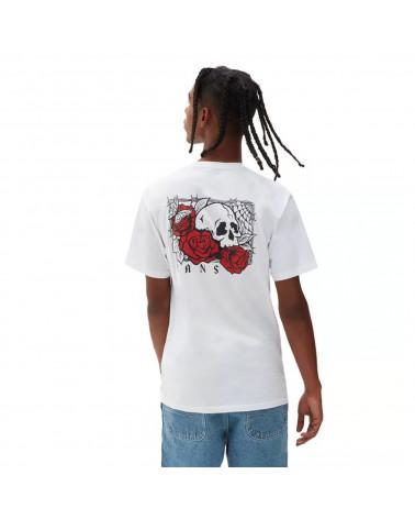 Vans T-Shirt Rose Bad - White