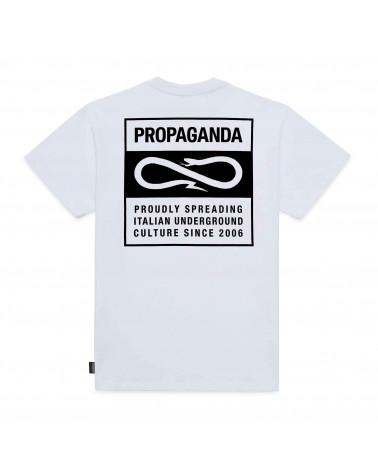 Propaganda T-Shirt Blank Tee - White