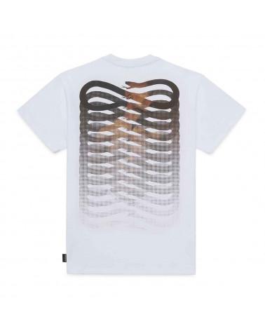 Propaganda T-Shirt 2Pac Ribs Icon Tee - White