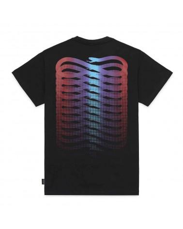 Propaganda T-Shirt Ribs Gradient Tee - Black