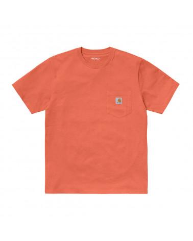 Carhartt WIP Pocket T-Shirt - Shrimp