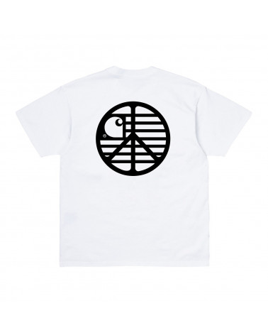 Carhartt Wip Peace State T-Shirt - White