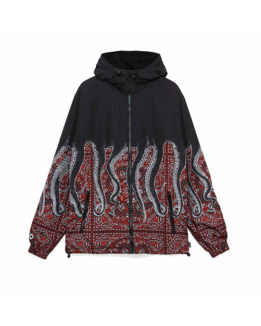 Octopus Giacca Octopus Bandana Windbreaker