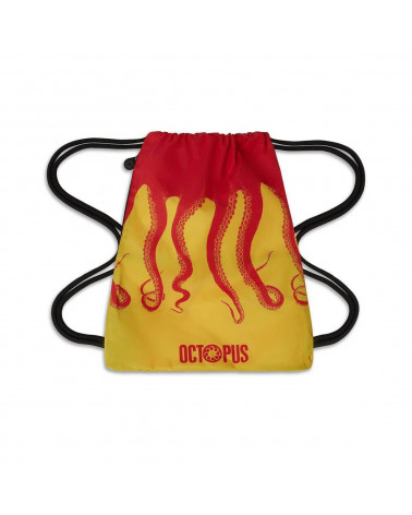 Octopus Sacca Original Backpack - Red/Yellow