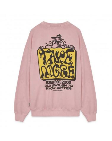 Iuter - Sweatshirt Take More Crewneck - Pink