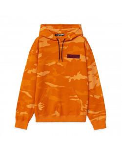 Iuter - Felpa Iuter Struggle Camo Hoodie - Orange