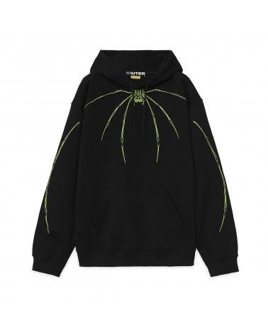 Iuter - Sweatshirt Iuter Widow Hoodie - Black