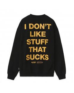 Iuter - Sweatshirt B&B Knockout Crewneck - Black