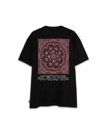 Octopus T-Shirt Bandana Logo Tee - Black