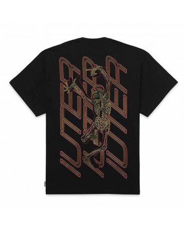 Iuter T-Shirt Skeleton Tee - Black