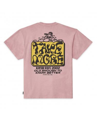 Iuter T-Shirt Take More Tee - Pink